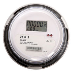 ANSI Socket Type single phase watt hour meter , energy consumption meter
